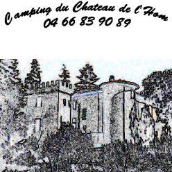 Camping du Chateau de l'Hom